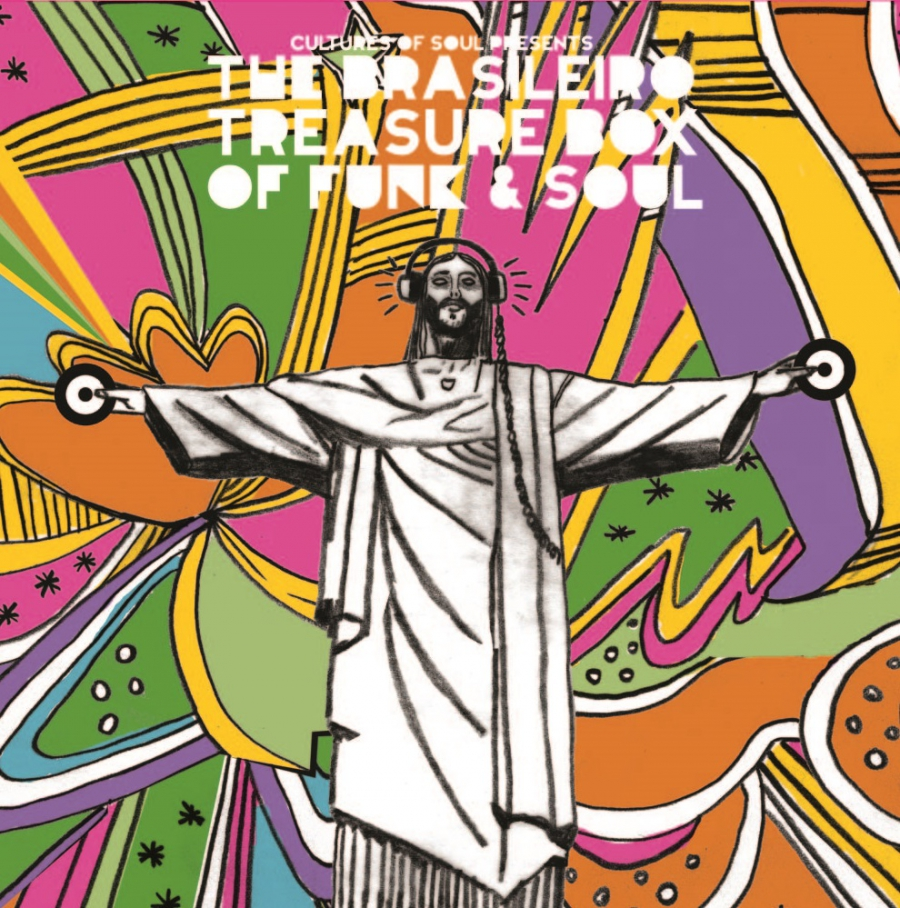 Cover art for The Brasileiro Treasure Box of Funk and Soul