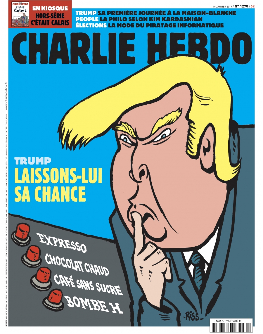 Charlie Hebdo Publishes Special English Language Edition For The United States Feeling The Burn The Left Under Trump