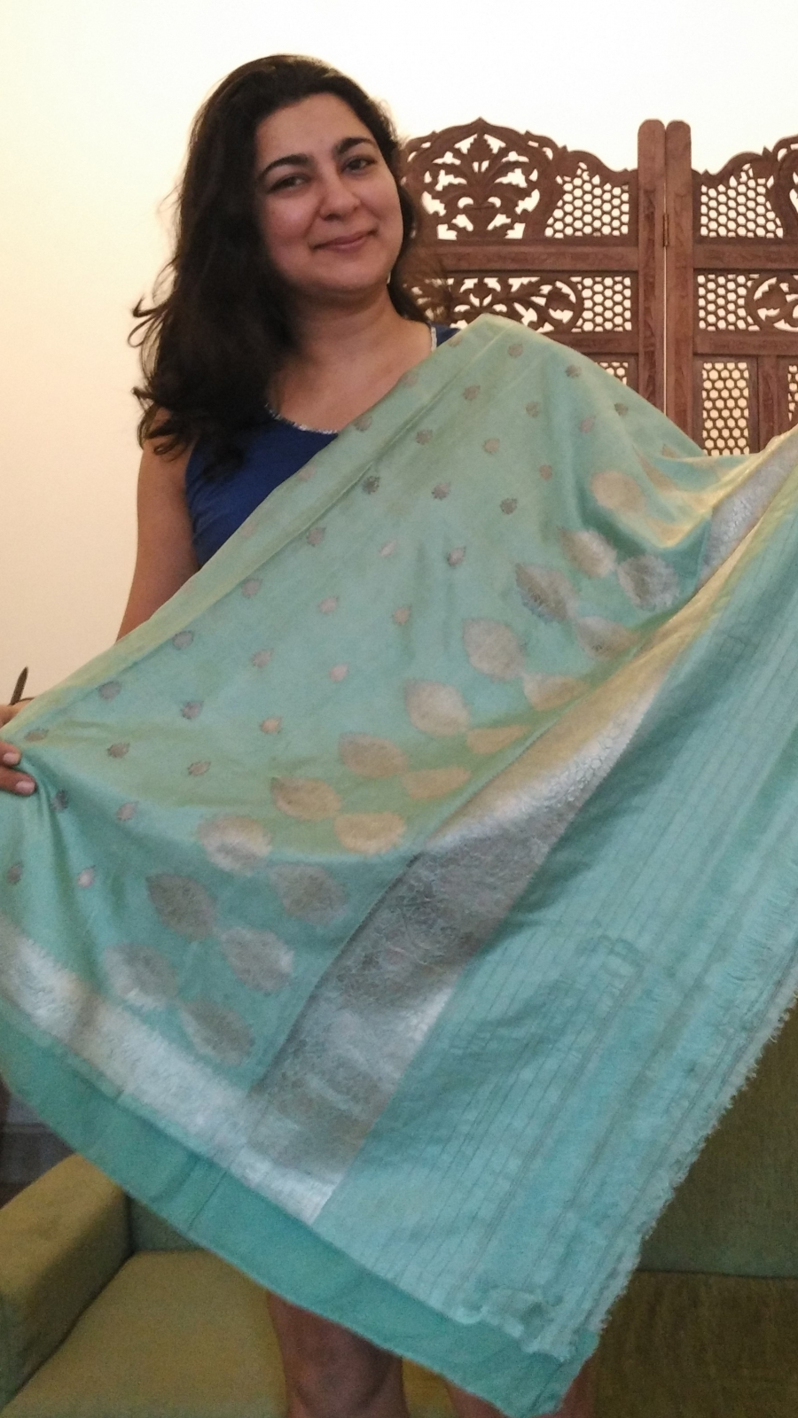 Chhavi Sachdev treasures her grandmother's sari -- but she wouldn't wear it