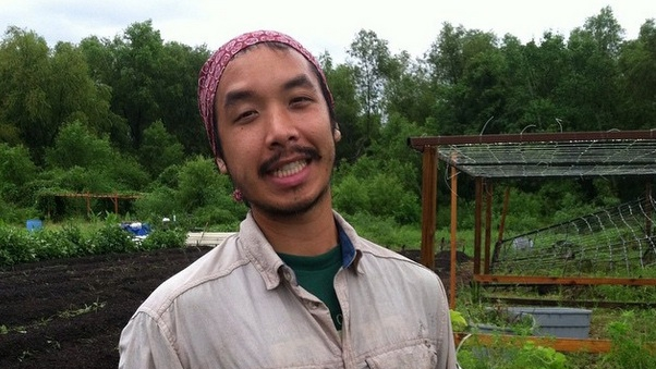 Daniel Nguyen, a community organizer, helped create the Vietnamese Farming Co-operative in New Orleans East.