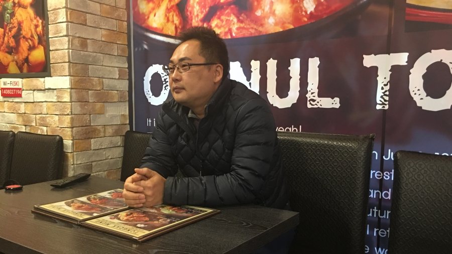Park Shi-kyung opened a fried chicken restaurant to help pay for after-school tutoring for his children. But he's not making a profit.