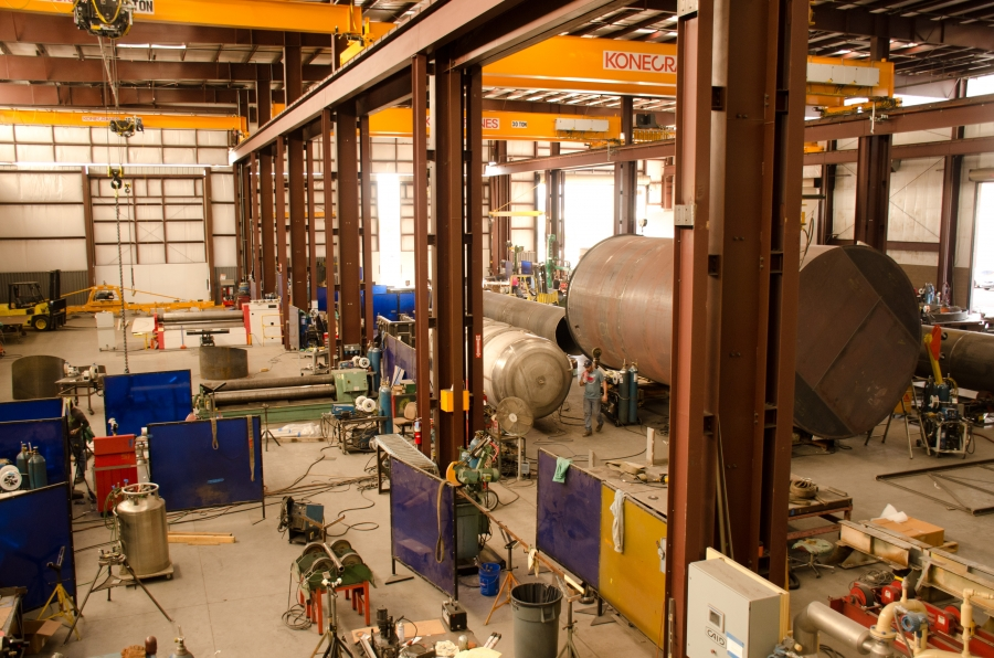 Heavy manufacturing is a major economic driver in the Arizona-Sonora, Mexico border region. Proximity to customers allows Caid Industries to export heavy machinery to Mexico, from its Tucson facility, at a fraction of the transport cost.
