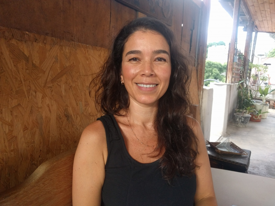 """Camila Moreno, researcher at the Federal Rural University of Rio de Janeiro, and author of """"Brazil: Made in China."""""""