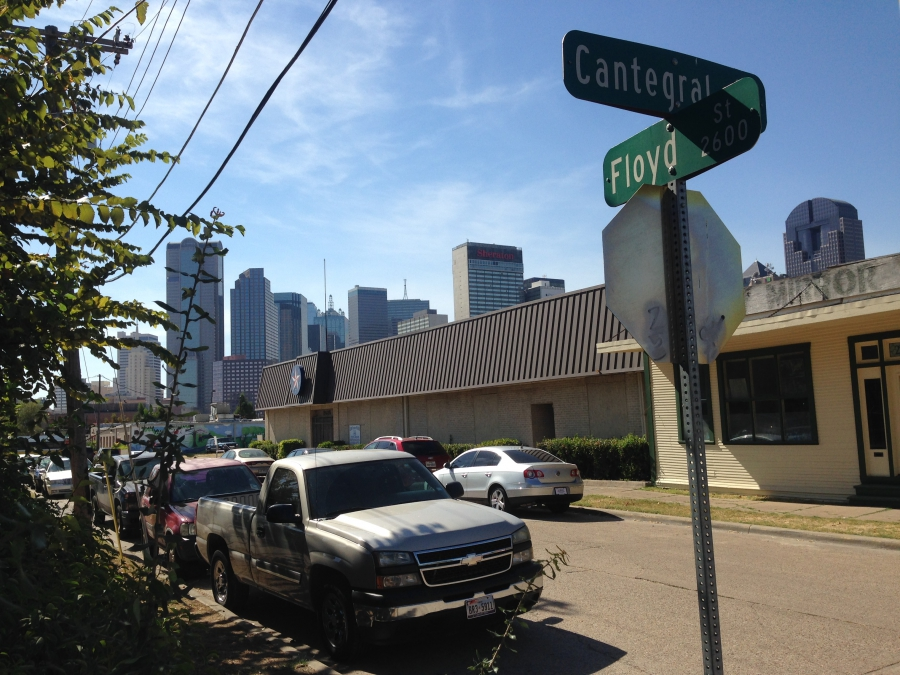 Cantegral Street near downtown Dallas is one of the few legacies of the La Reunion settlement of European socialists. But it's a misspelling of Francois Cantagrel, one of the founders.