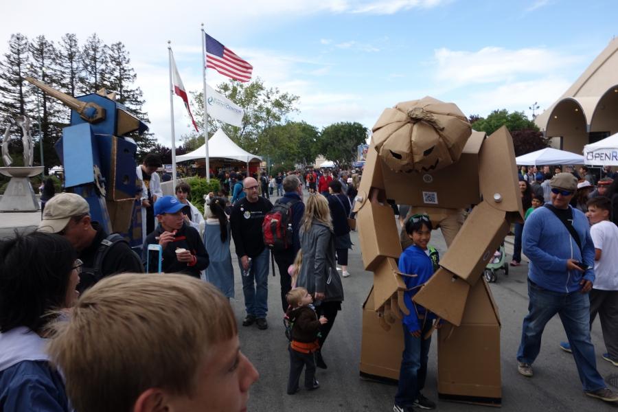 Scene at 2015 San Mateo Maker Faire