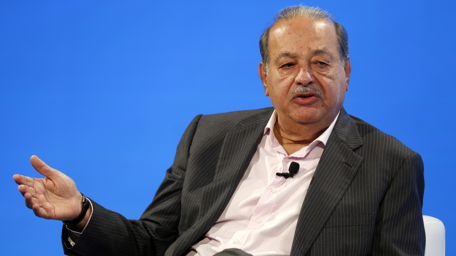 Carlos Slim, Mexico's richest man, fires Trump