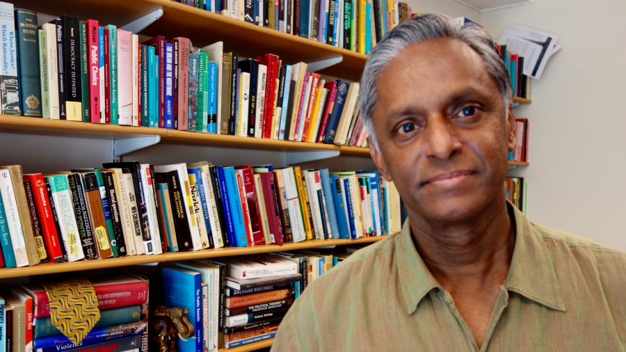 Chandran Kukathas, professor of political theory and head of the department of government at the London School of Economics