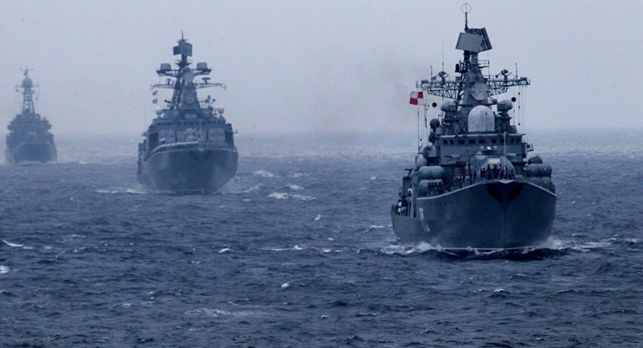 China and Russia conduct air defense drills in the South China Sea