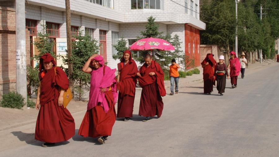 Chinese Buddhist monks