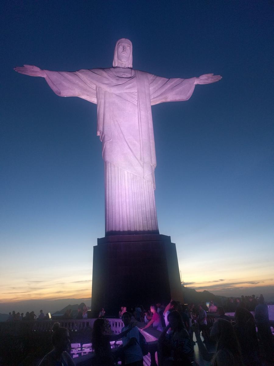 Christ the Redeemer statue, in Rio de Janeiro