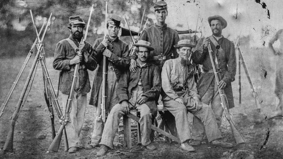Soldiers in US Civil War