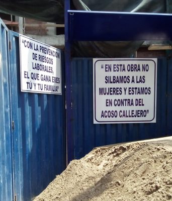 Peru construction site no catcalling