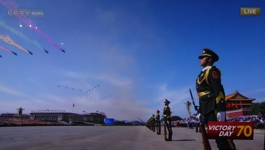 Chinese military parade, September 2015