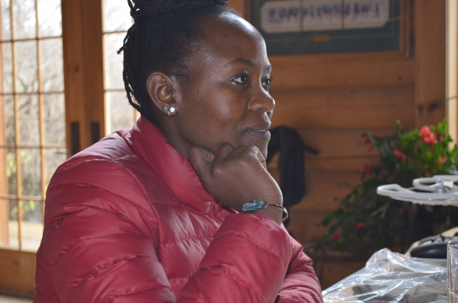 Carol Bogezi says she learned empathy for ranchers dealing with predators growing up on her family's farm in Uganda. She also says her status as an outsider in Washington's ranching communities made her have to listen more closely to residents' concerns t
