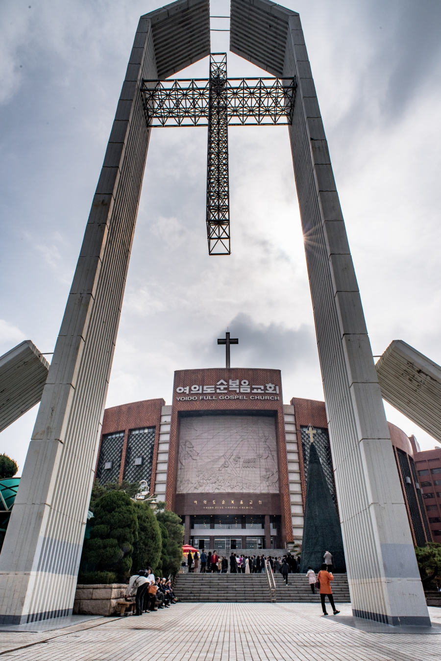 The congregation at Full Gospel Church on Yoido Island grew along with the city of Seoul. The capital city and its outskirts is now home to more than 20 million people.