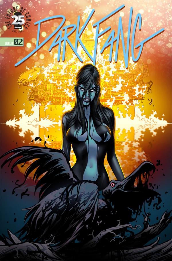 Cover of Dark Fang #2