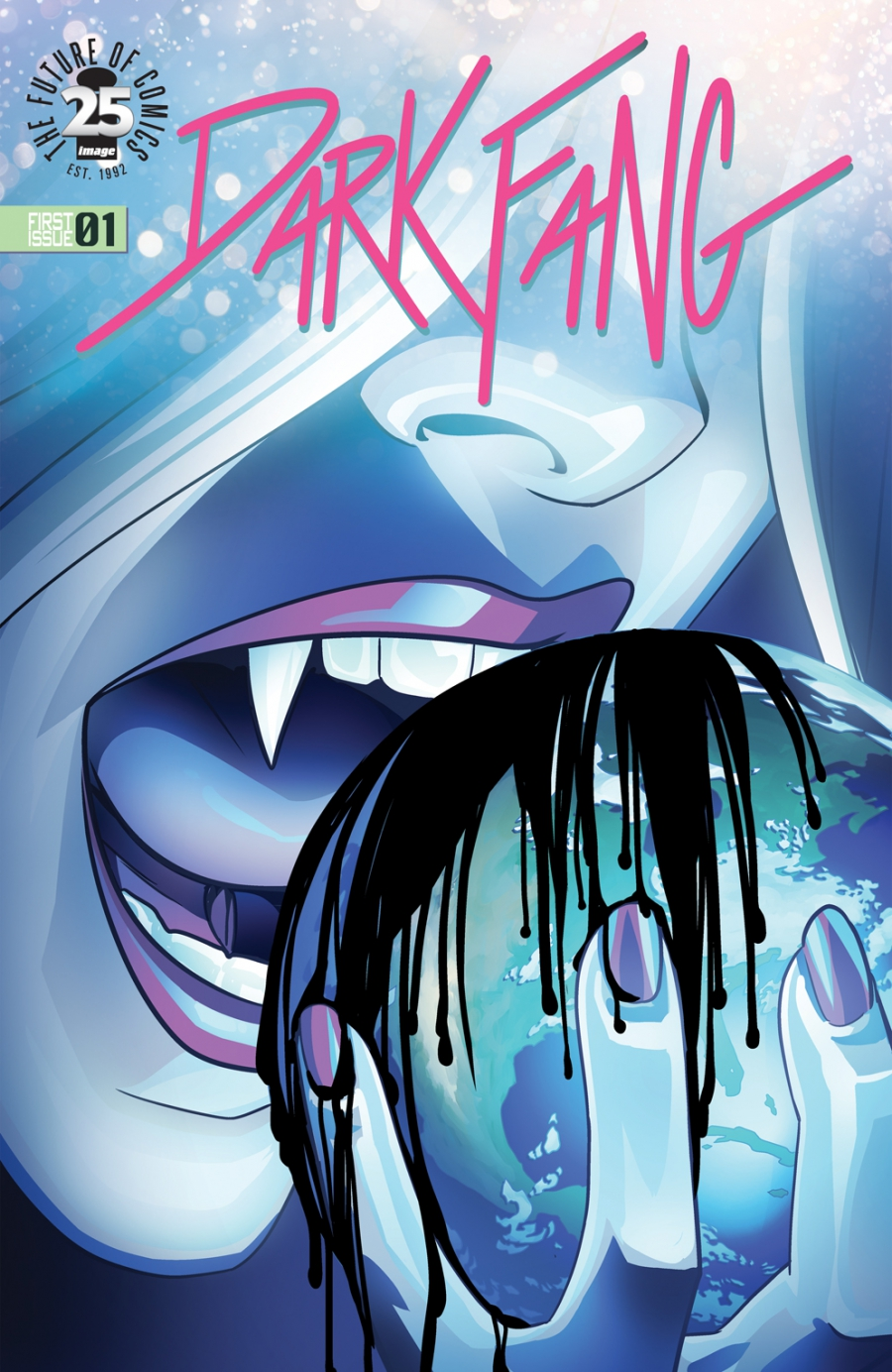 Cover of Dark Fang #1  ©2017 by Miles Gunter and Kelsey Shannon