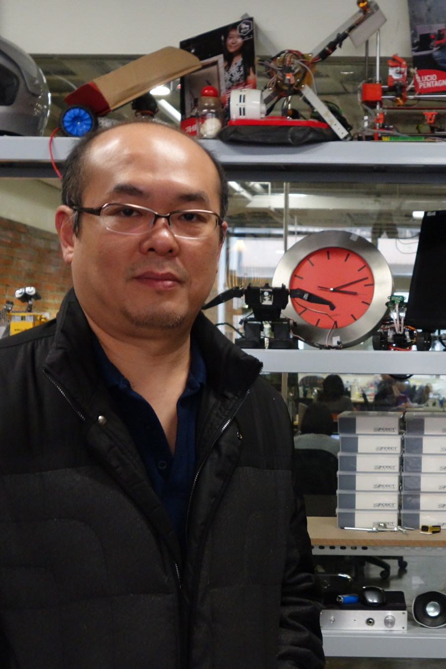 David Li, founder of China's first Maker Space, in Shanghai