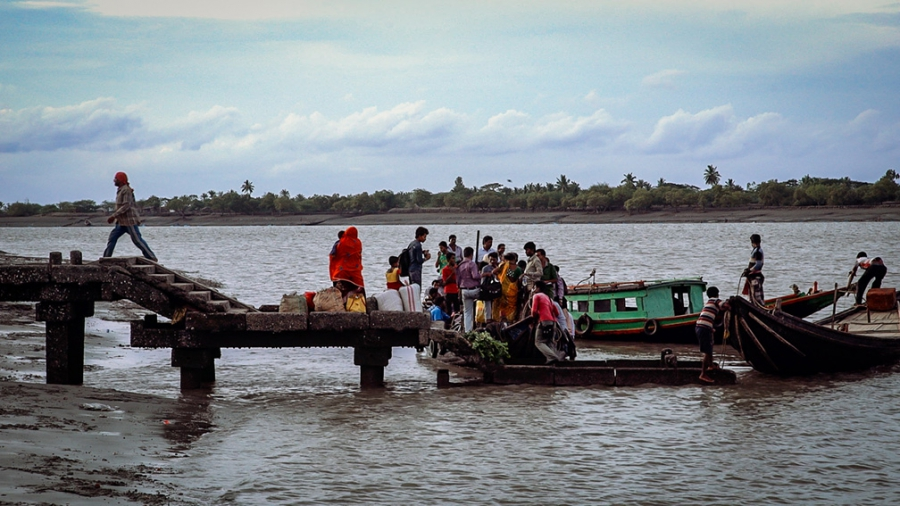 Most of the Sundarban islands in West Bengal are only accessible by boat despite being home to more than four million people.