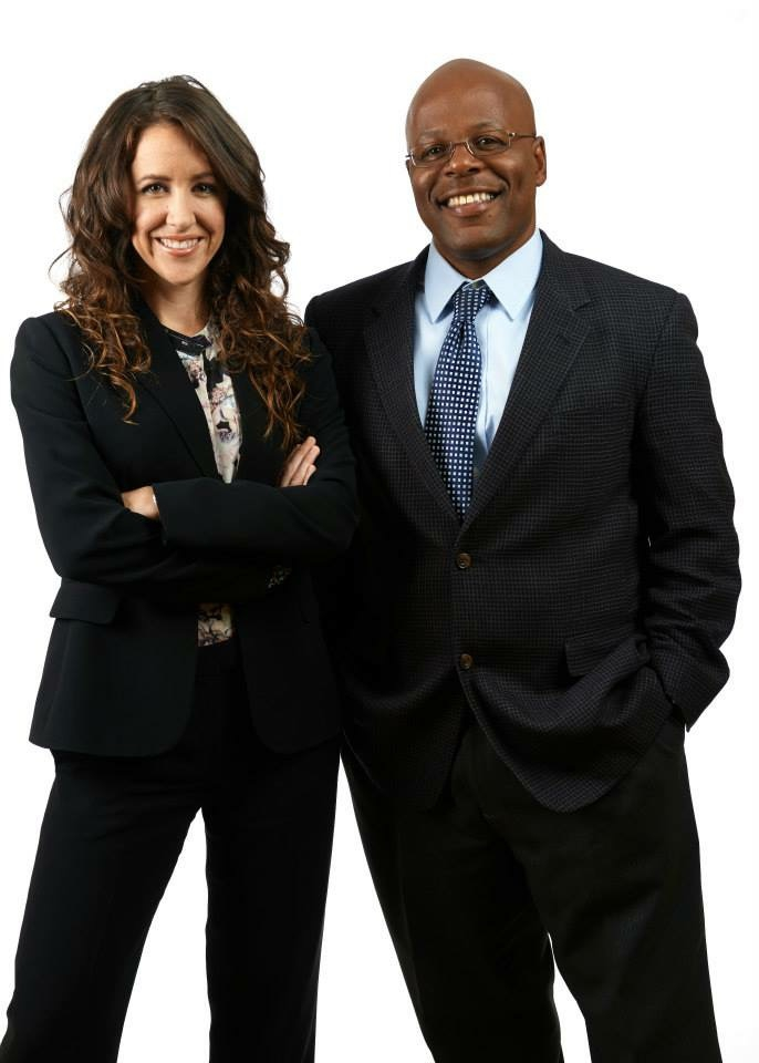 Kelly Orians and Calvin Duncan, co-founders of Rising Foundations.