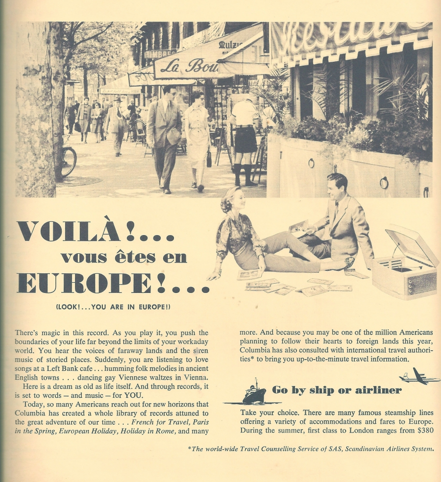European Holiday insert