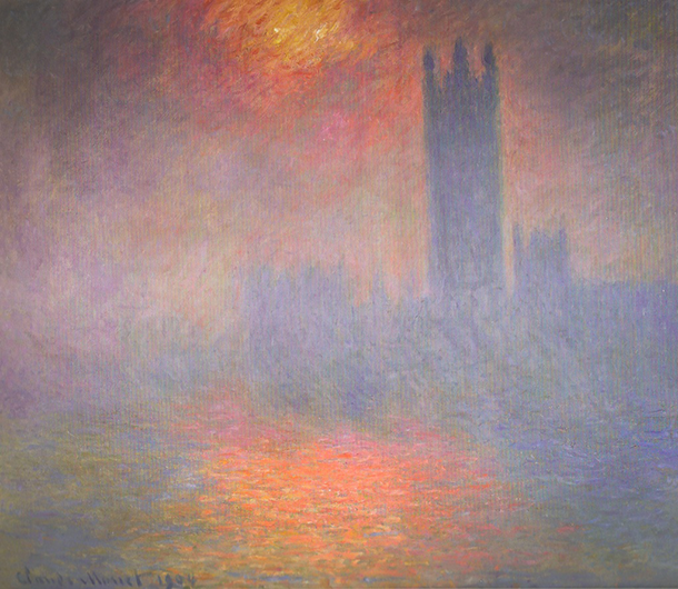 A new book looks at the history of the famous london fog claude monet captured the london fog in a series of impressionist paintings on a visit to the city solutioingenieria Choice Image