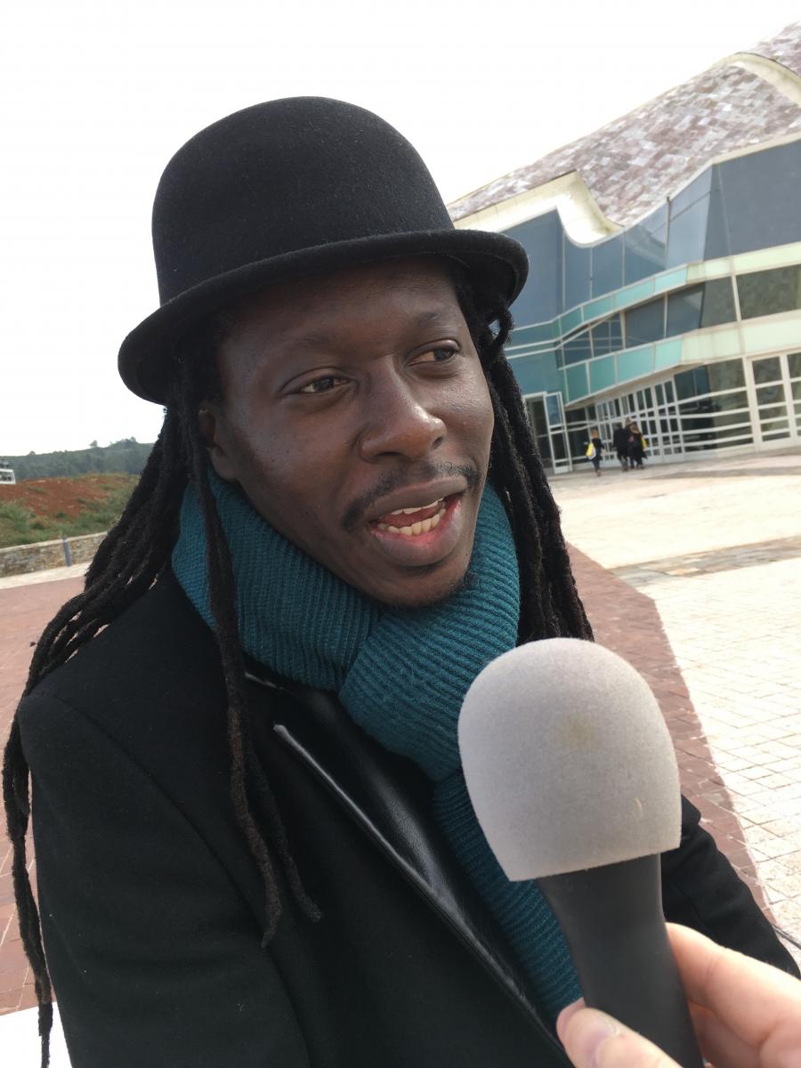 Senegal singer and rapper Faada Freddy