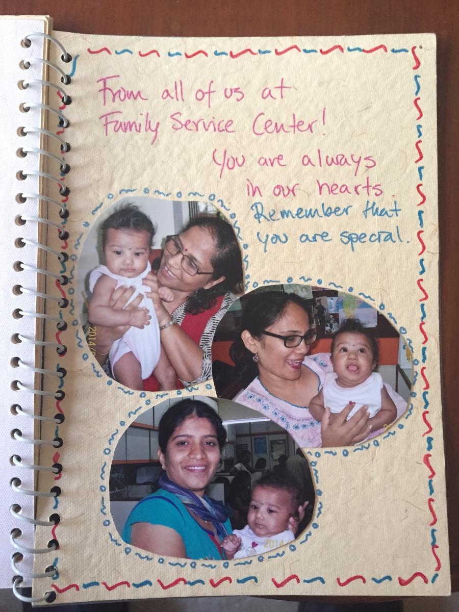 Tenaya's scrapbook