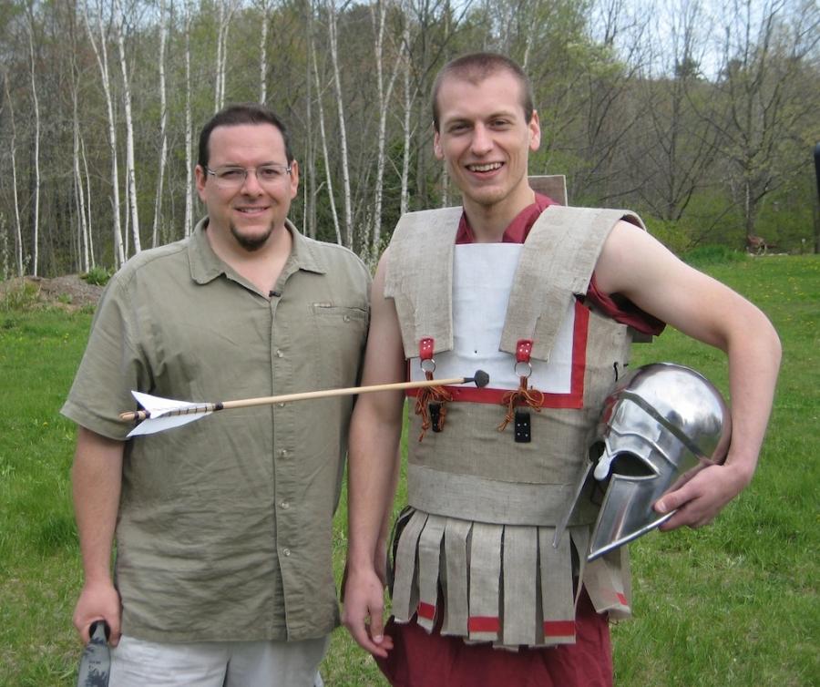 Greek armor