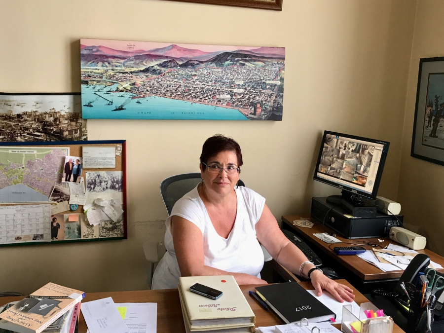 Erika Perahia Zemour is the director of Thessaloniki's Jewish Museum. She says since the mayor took office, public school visits to the museum have more than tripled.