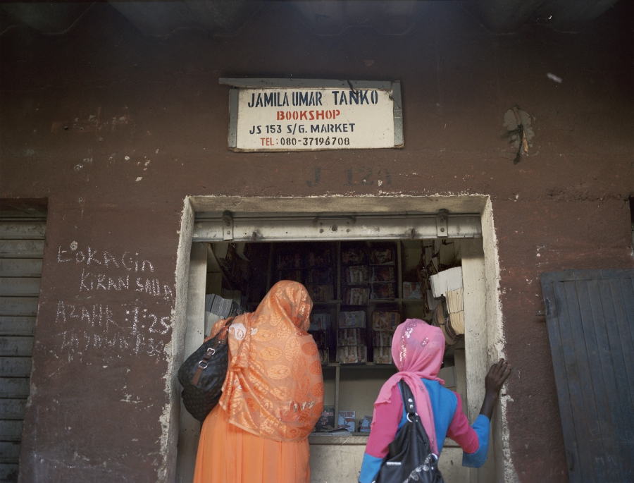 Jamila Umar was tired of the male shop keepers not paying her properly for her books, so she opened her own shop.