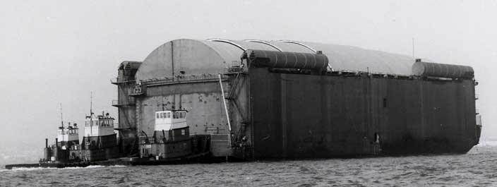 """The """"Hughes Mining Barge"""""""