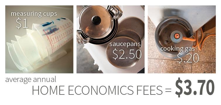 Home Ec fees