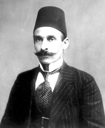 Husseini al-Husseini, the last Mayor of Jerusalem under the Ottoman Turks