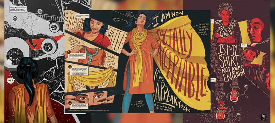 One of Shehzil Malik's illustrations.
