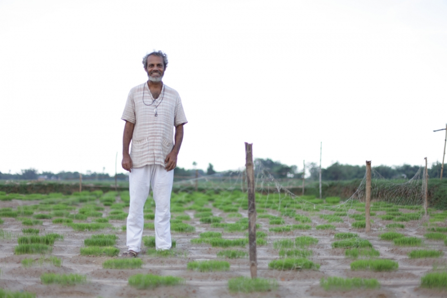 Debal Deb, founder of the Vrihi seed bank in West Bengal.