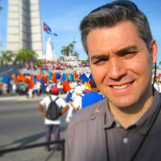 Jim Acosta in Cuba