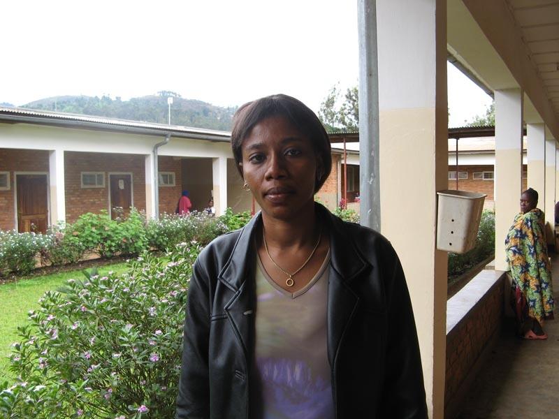 Translator Rita Baraka.