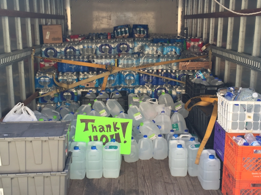 Water to be delivered from Lansing to Flint