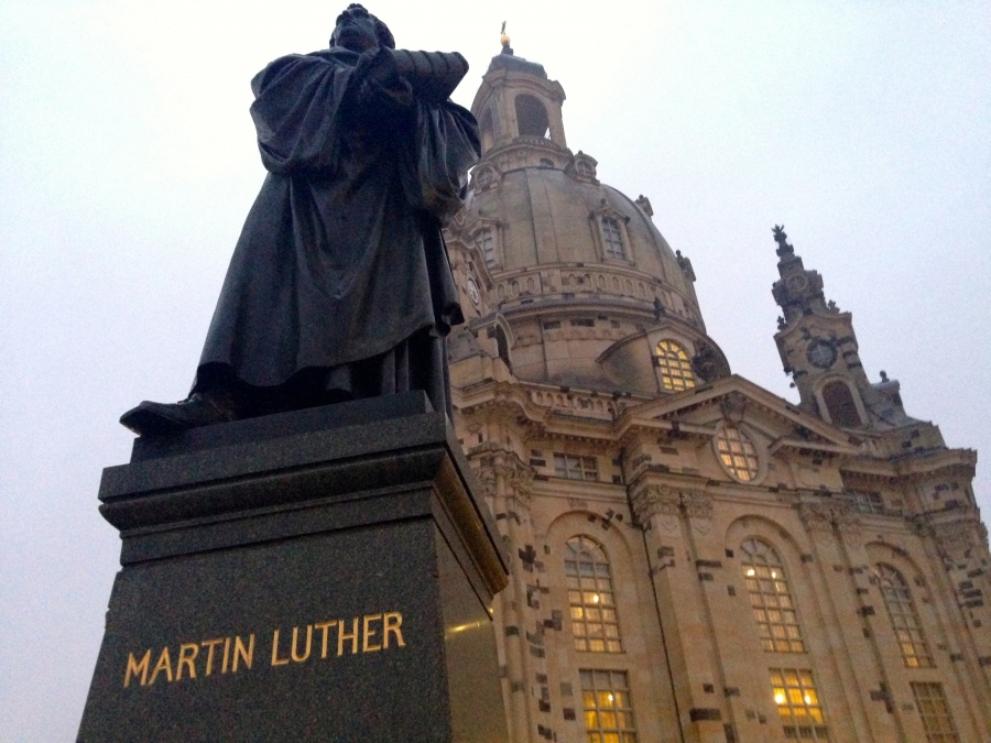 """By faith alone,"" are the words from Martin Luther that changed Christianity forever."