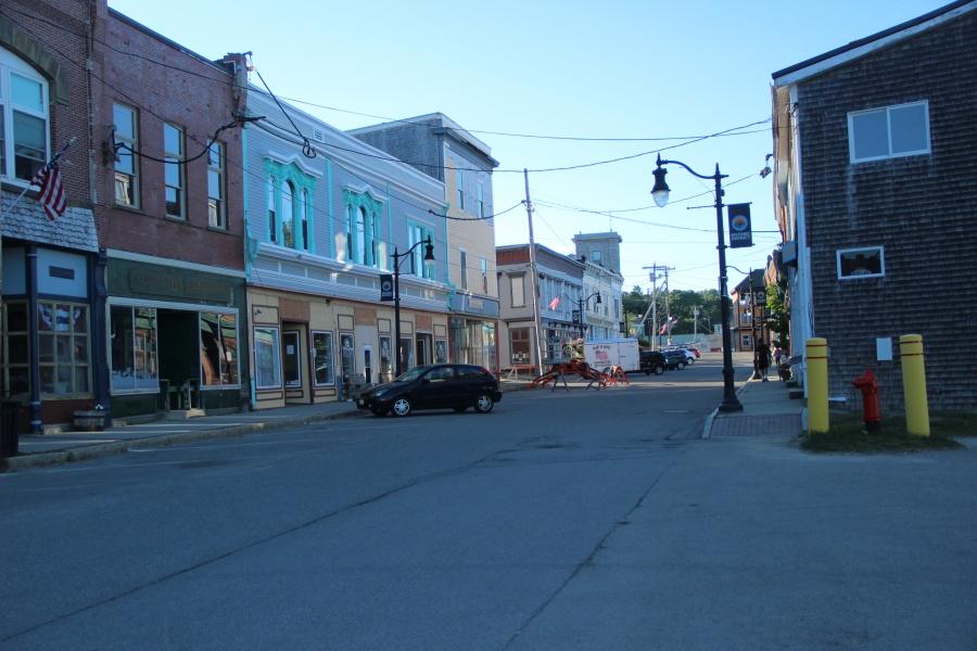 Downtown Eastport.
