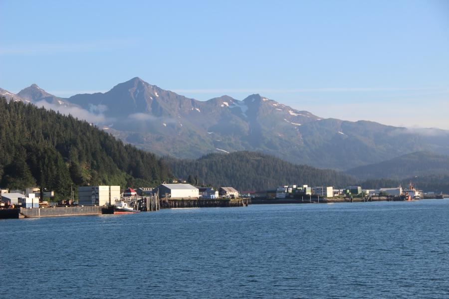 Cordova, Alaska: population 2,205.