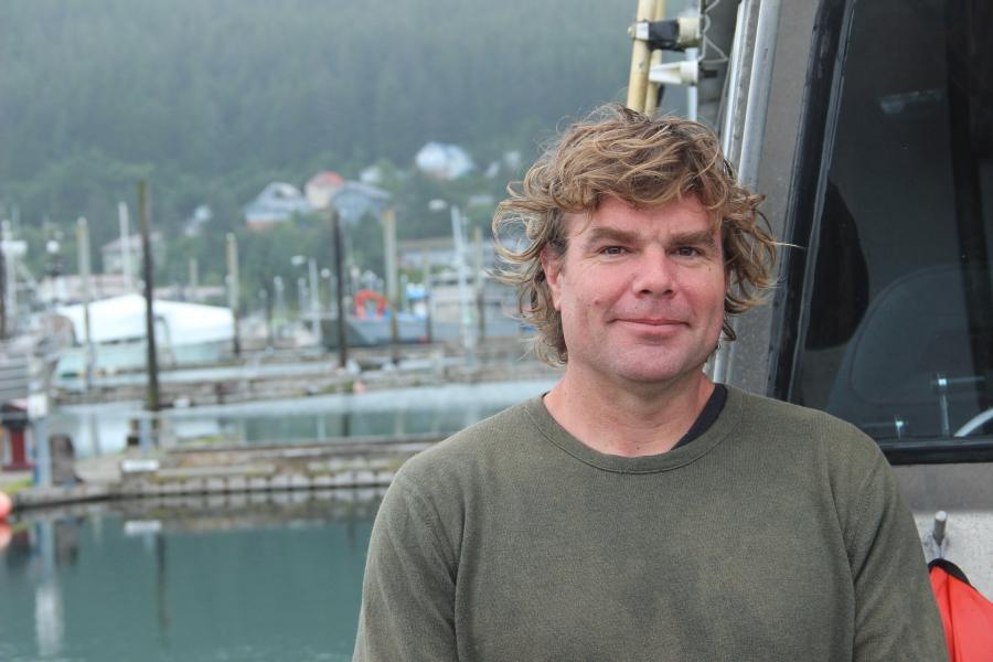 Alaskan fisherman Mike Mahoney.