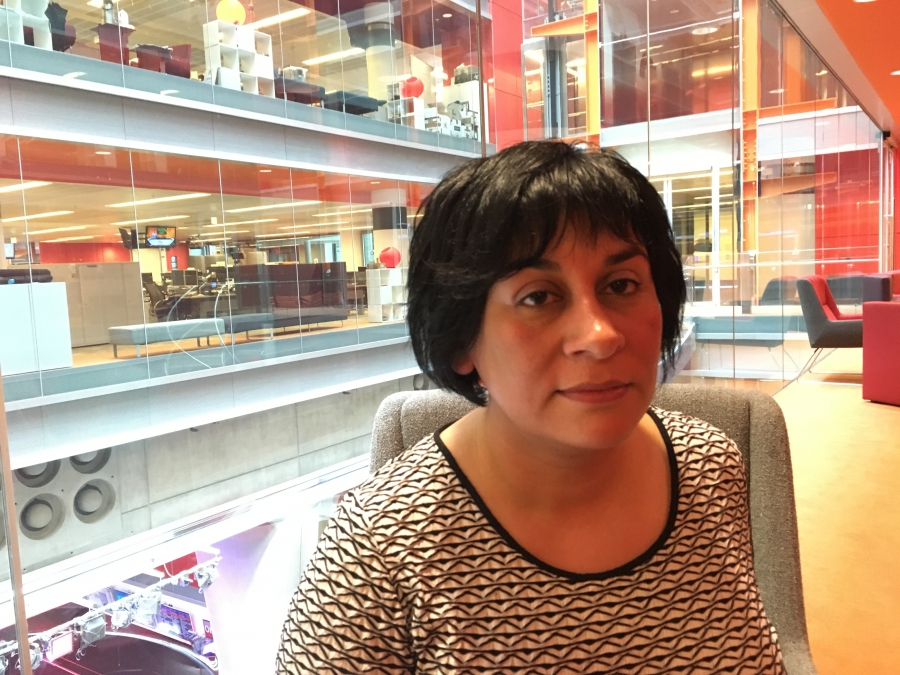 Anita Vasisht, an immigration lawyer who received a letter from Prime Minister David Cameron.
