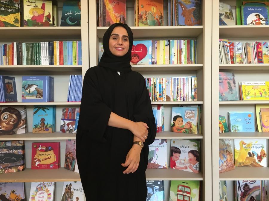Yusra Al Hashimi, founder and CEO of Iqra'a Arabic Language Center.