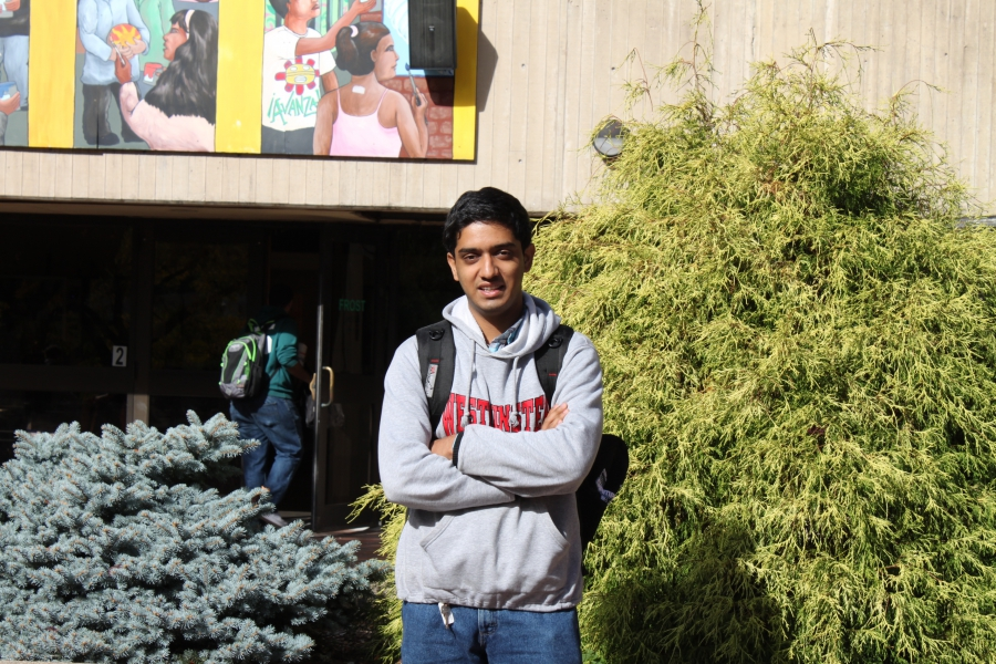 Tauqeer Hassan enrolled at Holyoke Community College in Massachusetts