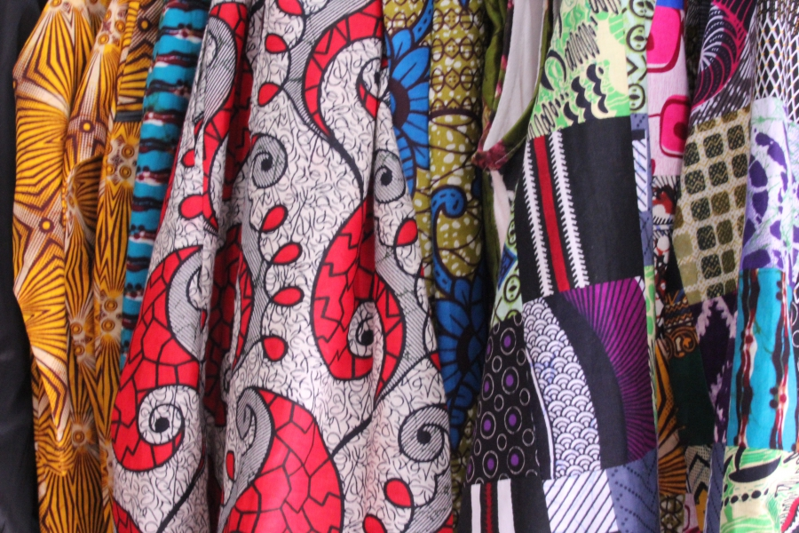 "Designer Khady Sy Savane calls wax print fabrics are a ""cultural mirror"" of the way people live today."