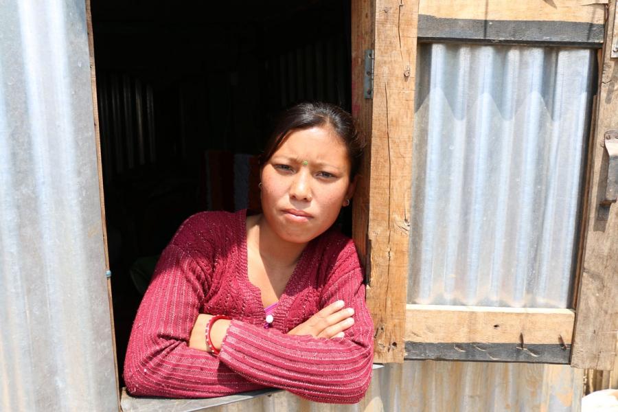 24-year-old Prapti Tamang.