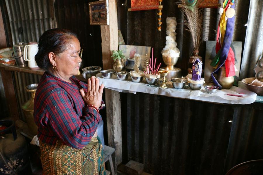 57-year-old Lari Tamang.