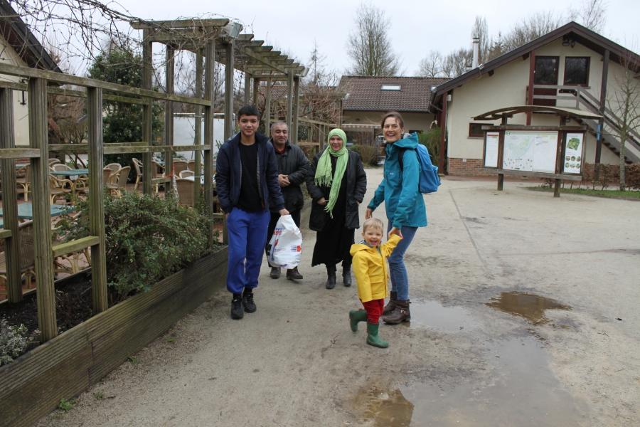 Catherine McSweeney and Hosseini Family